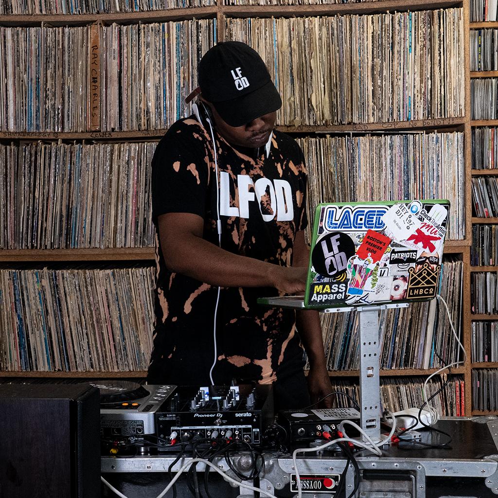 LFOD Radio Ep. 143, pt. II (Featuring DJ Alcide)