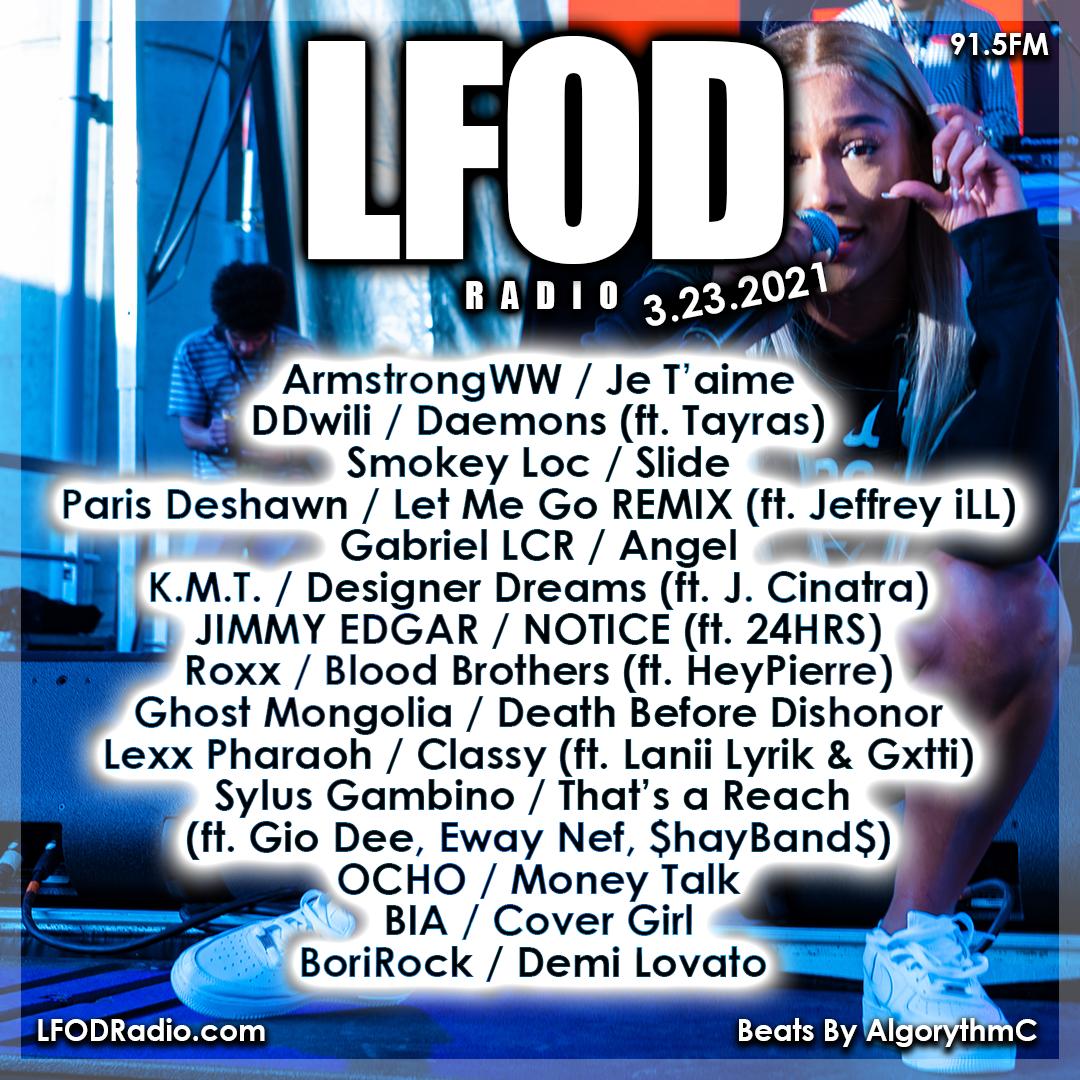 LFOD Radio 3.23.21