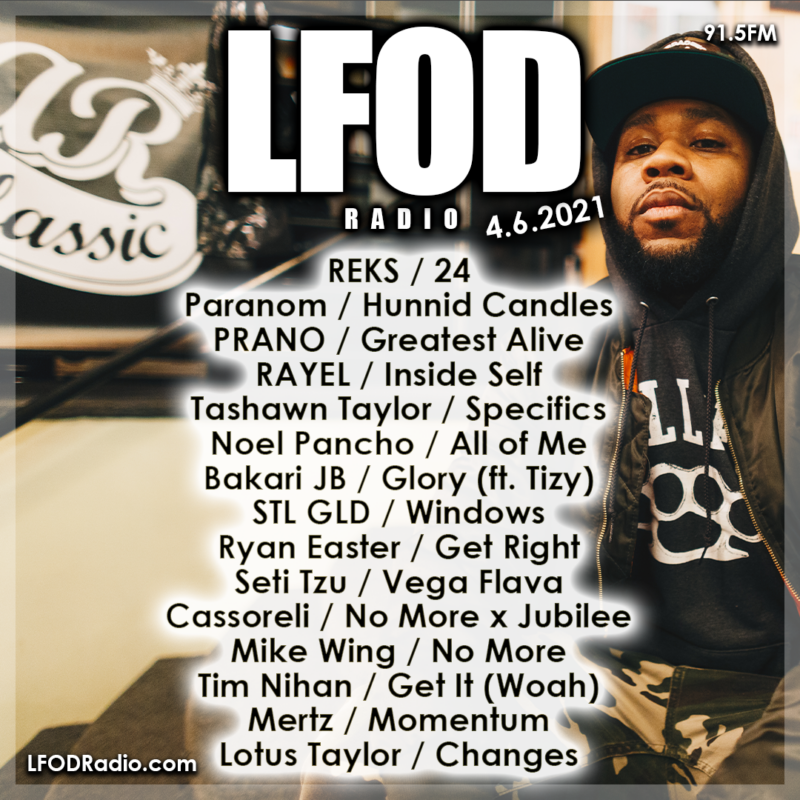 LFOD Radio 4.6.21 #24in24 Anniversary
