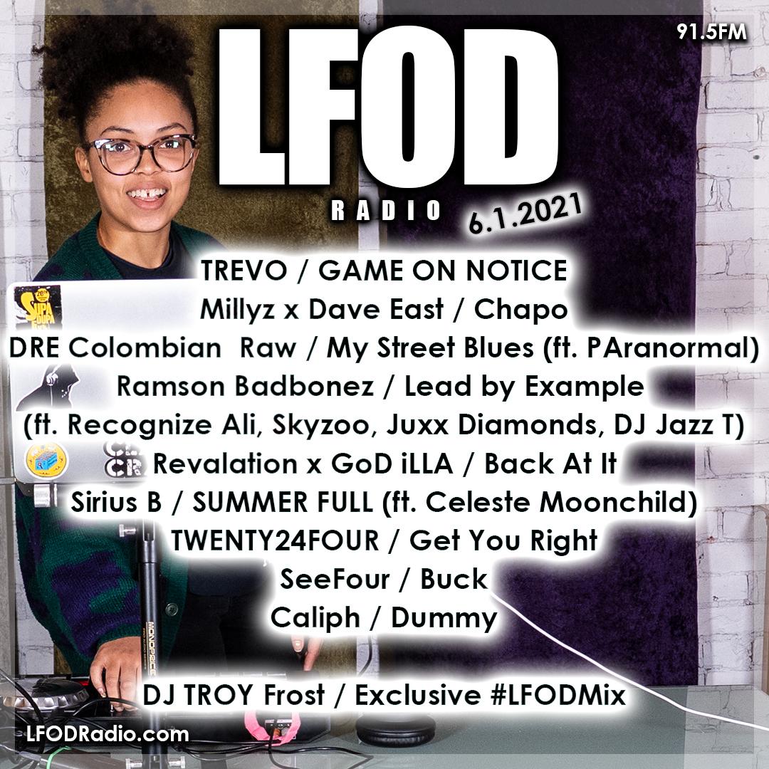 LFOD Radio 6.1.21 – DJ TROY Frost [REWIND]