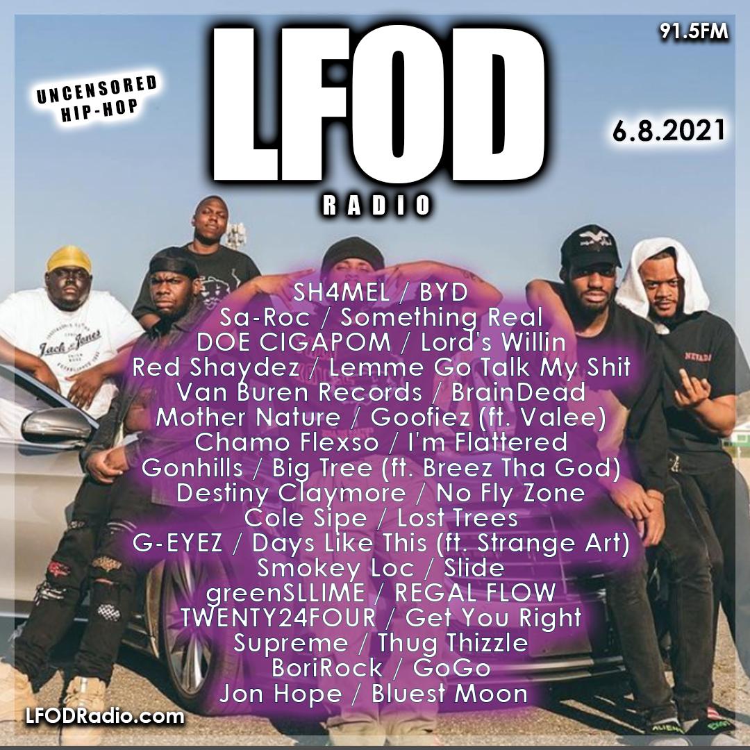 LFOD Radio 7.6.21 – Heat Check