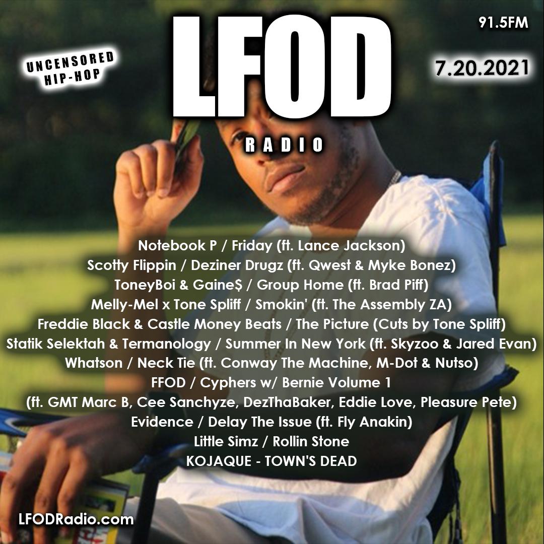LFOD Radio 7.20.21 #LFODMix